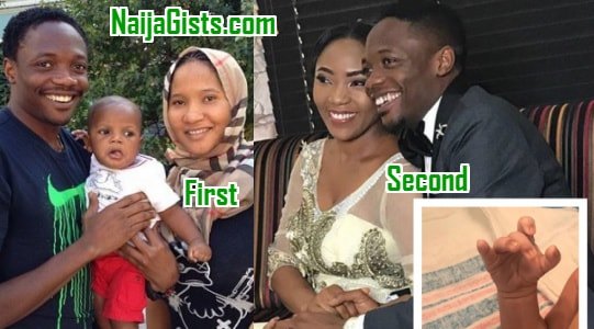 ahmed musa abandons first wife