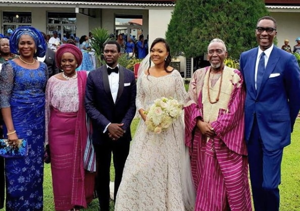 elizabeth douglas soji wedding