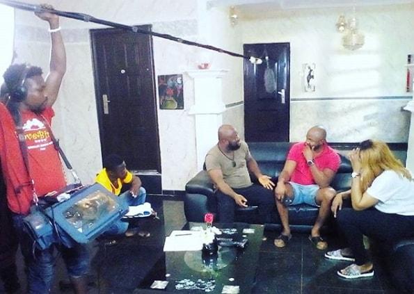 angela okorie abandoned a movie set