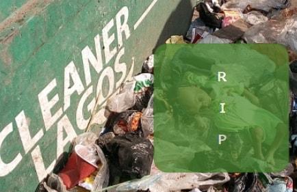 baby dies refuse dump ebute metta lagos