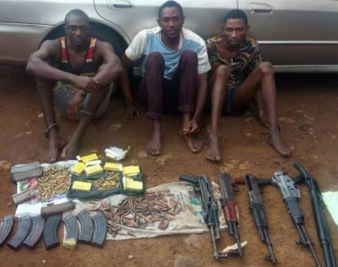 bank robbery gang arrested