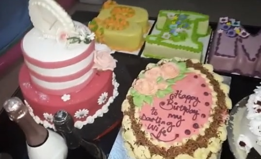 bimbo oshin birthday party