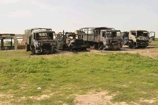 boko haram attack military base yobe
