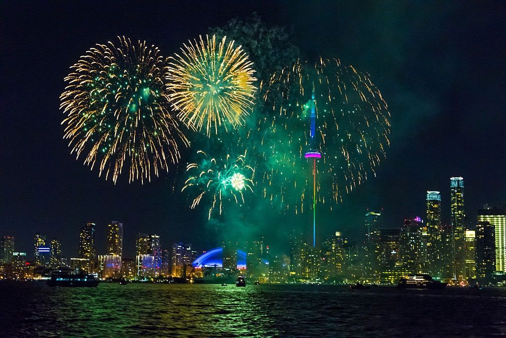 canada day 2018 fireworks