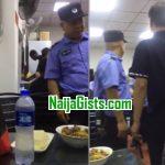 chinese police raids nigerian restaurant beijing