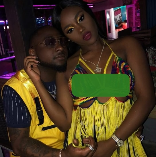 davido impregnates another lady uniport student