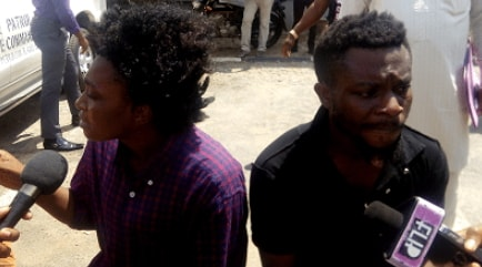 couple traffick girls lagos prostitution