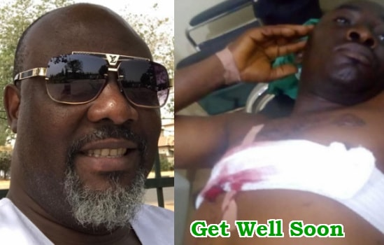 dino melaye guard shoot police