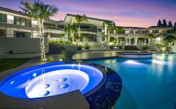 eddie murphy 10 bedroom mansion california