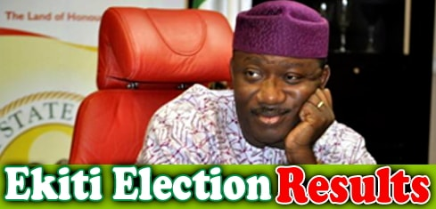 ekiti 2018 election official inec result