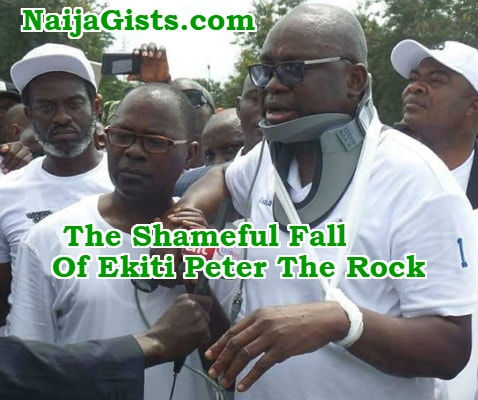 ekiti peter the rock