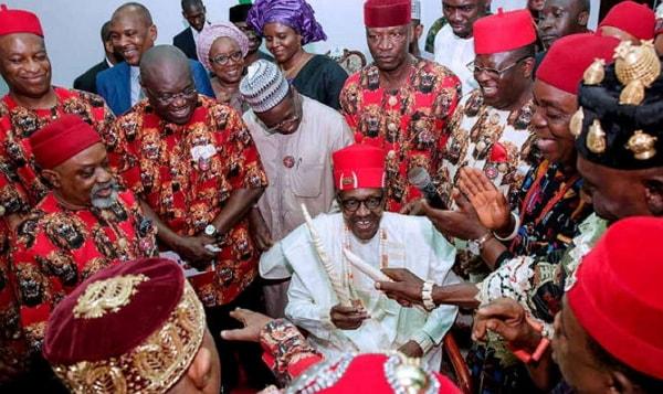 igbo leaders buhari 2019