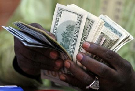 nigerian igbo man baby girl dollar step on it