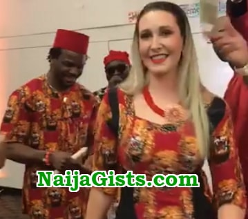 igbo man marries white lover australia photos