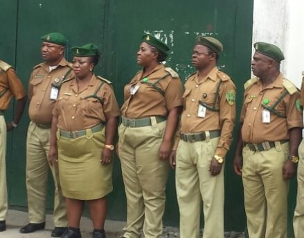 ikoyi lagos prison provost selling drug inmates