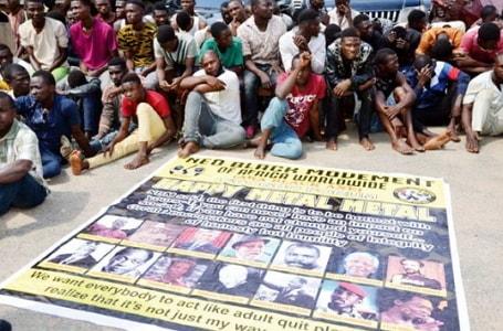 innocent people arrested black axe cult