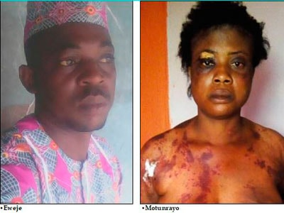 man beats wife over missing 500 naira