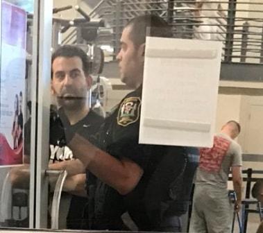 man calls 911 basketball foul virginia gym