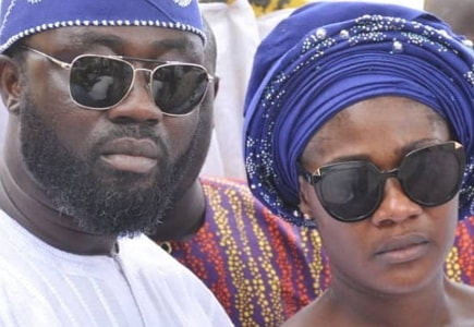 mercy johnson get over mother death