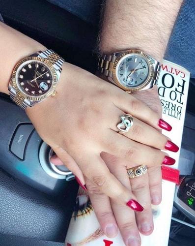 nadia buari husband rolex watches