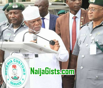 nigerian customs sack fat overweight officers