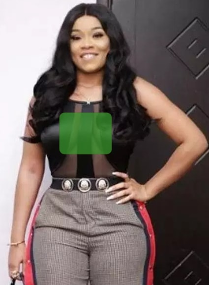 nollywood doesn't wear bra