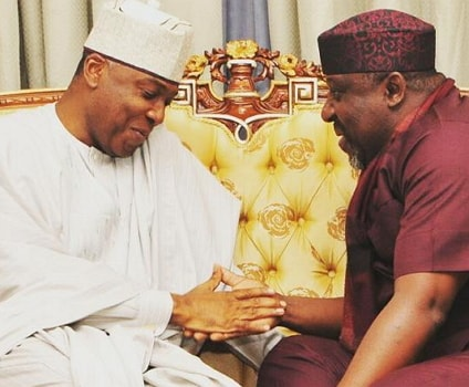 okorocha saraki return pdp