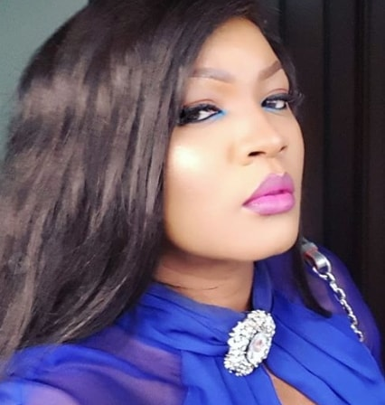 omotola jalade doubles her size
