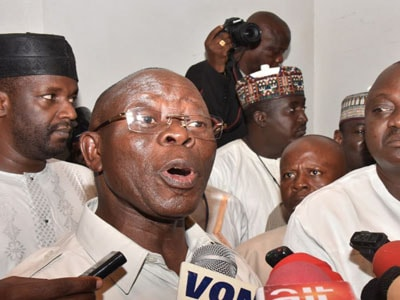 oshiomhole apc lawmakers defected pdp