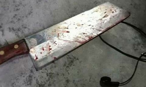wife use knife cut off cheating husband penis thailand