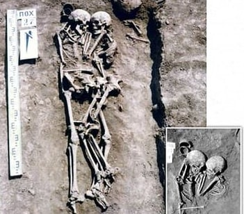 Ukrainian woman buried alive dead husband 3000 years ago