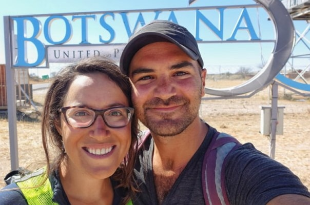 american couple cycling around the world killed isis