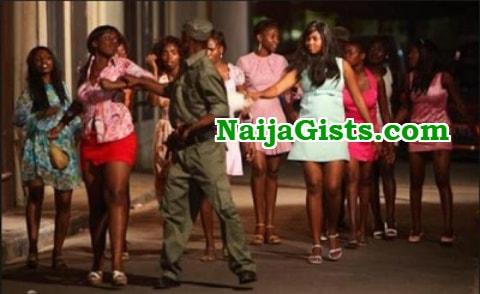 27 prostitutes arrested raid abuja hotel