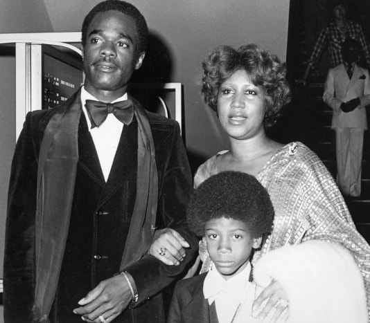aretha franklin first husband