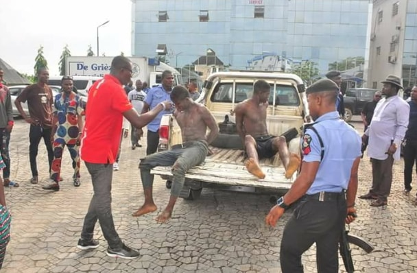 2 armed robbers arrested yenagoa market