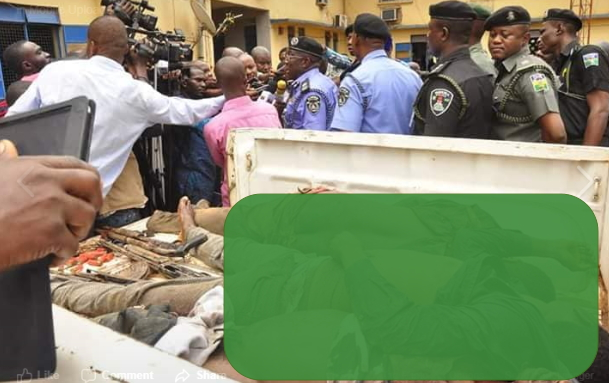 armed robbers killed police edo state