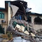 yinka ayefele radio station demolished