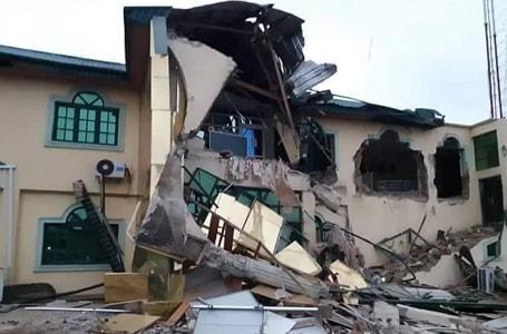 yinka ayefele radio station demolished