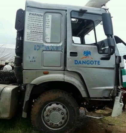 dangote truck driver flees killing 13 nasarawa