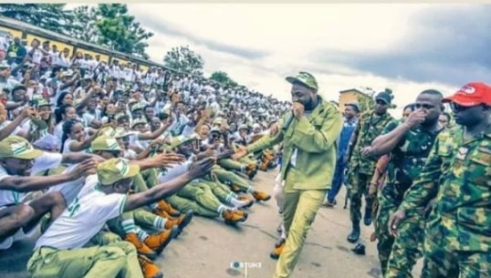 davido nysc camp party zone