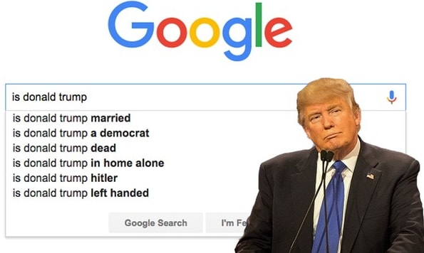 donald trump attack google
