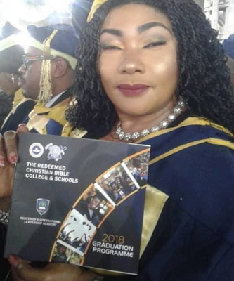 eucharia anunobi graduates rccg bible college