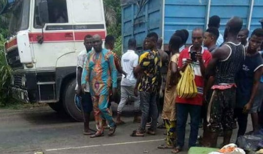 fatal accident kill bus passengers rivers state