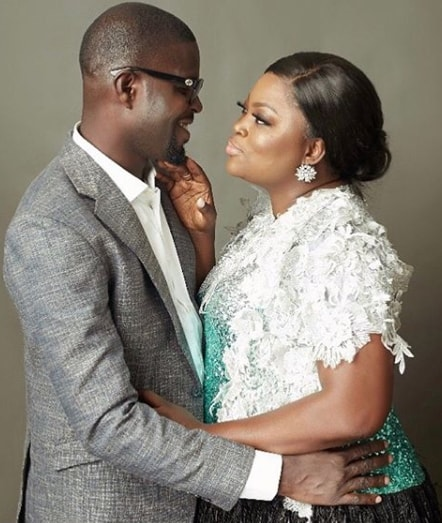 funke akindele 2nd wedding anniversary photos