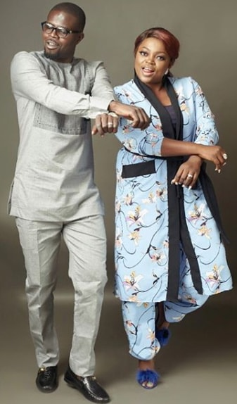 funke akindele 2nd wedding anniversary pictures
