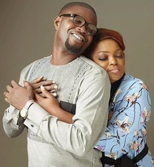 funke akindele 2nd wedding anniversary