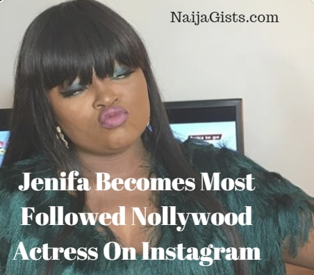 funke akindele most followed Nollywood actress instagram