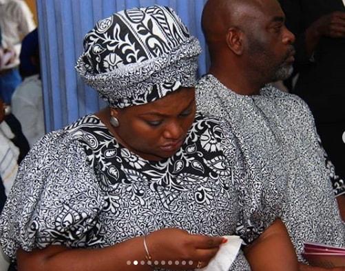 funsho adeolu father in law burial