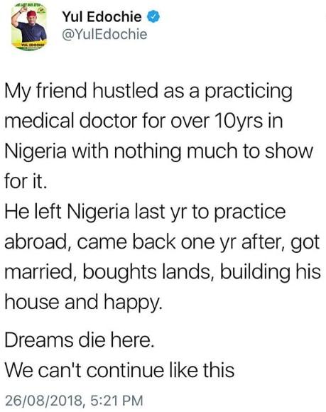 no future doctors nigeria