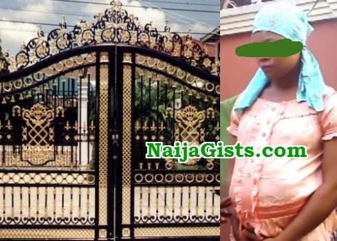 gateman impregnates house maid anambra photo